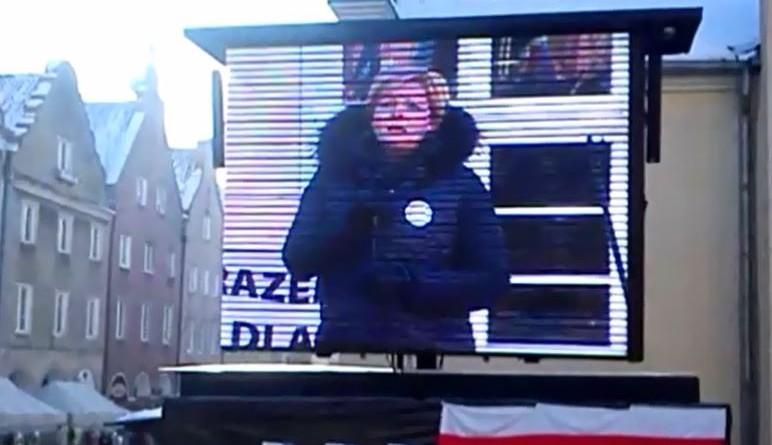 Parę słów o demokracji Teresy Astramowicz-Leyk na KOD-owisku w Olsztynie