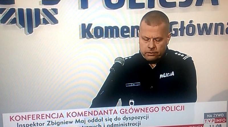 Pięć butelek wódki powala Komendanta Głównego Policji! Ku prawdzie wszoku!