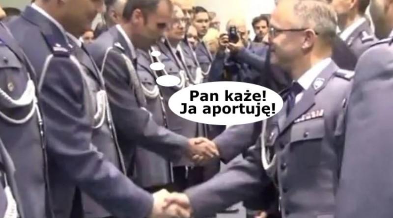 Nie podaję ręki! Jarosław Sztachański przejmuje maniery buraka warszawskiego!