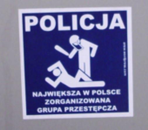 Mistyfikacja kierownictwa i służb kontrolnych Policji