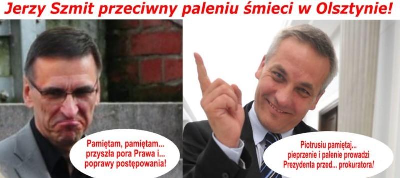 Pieprzenie i palenie… w dwójnasób! Jerzy Szmit kontra Piotr Grzymowicz