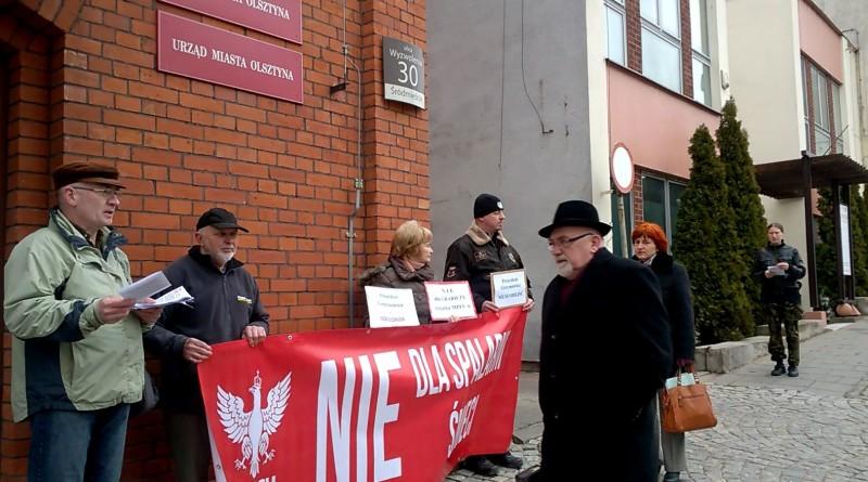 Kulisy walki przeciwników budowy spalarni śmieci i prywatyzacji majątku komunalnego w Olsztynie