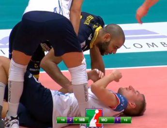 Nikola Jovović znokautowany po ciosie od Earvina N'Gapetha